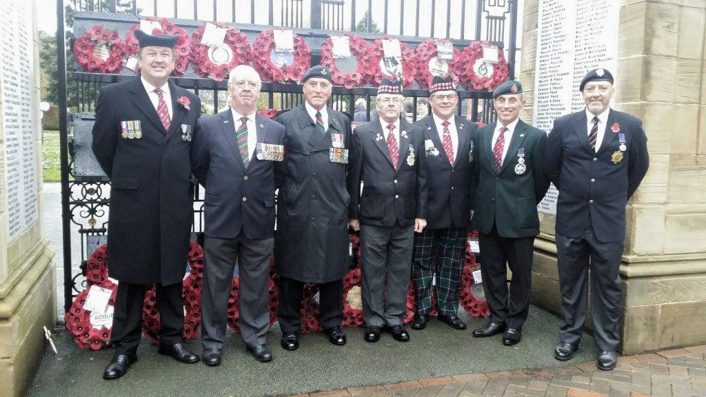 2018 Remembrance Parade Oswestry