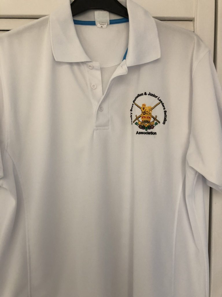 Association Polo Shirt White Large 43″